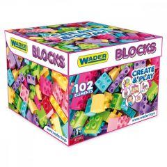 "Конструктор ""Middle Blocks"" (102 ел.) для дівчинки, Wader 41293"