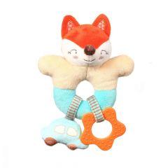 """М'яка іграшка-брязкальце """"FOX VINCENT"""", BabyOno 1166"""