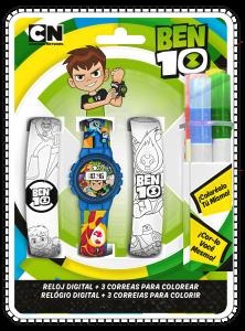 """Цифровий годинник в комплекті з ремінцями """"Ben 10"""", ВТ17009"""