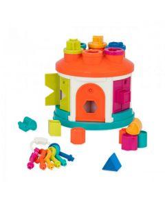 Розвиваюча іграшка-сортер - Розумний будиночок, Battat BT2580Z