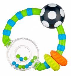 Брязкальце з кольоровими кульками, Canpol Babies 56/145 (зелена)