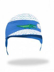 Літня кепка для хлопчика (синя), YoClub CLU-082