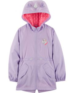 Курточка на флісі для дівчинки