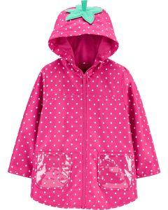 Мила вітрівка-дощовик  для дівчинки