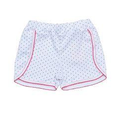 Стильні трикотажні шорти для дівчинки (в горошок), Minikin 200703