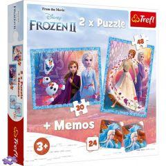 "Пазли ""Frozen"", містична країна, Trefl 90814"