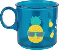 Дитяча чашка з антиковзаючим покриттям (170 мл), Canpol babies 2/100 (ананас)