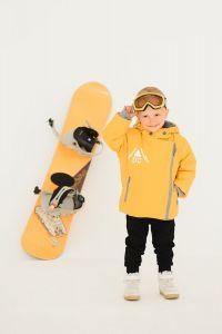 """Тепла куртка """"Логан"""" з флісовою підкладкою (жовта), DC Kids"""