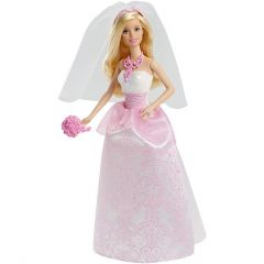 """Лялька Барбі """"Королівська наречена""""  Barbie CFF37"""