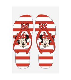 """В'єтнамки для дівчинки """"Minnie Mouse"""" DIS MF 52 51 7394 (червоні)"""