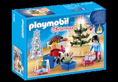 """Ігровий набір """"Різдвяна вітальня"""", Playmobil 9495"""