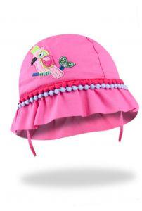 Панама для дівчинки (малинова), YoClub CKA-183
