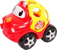 Іграшка-брязкальце, Авто, червона Lindo Б 343