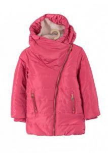 Тепле пальто з флісовою підкладкою для дівчинки, 3A3702