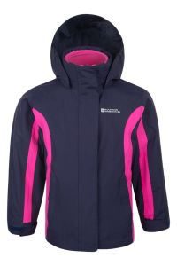 Демисезонна куртка 3-в-1 для дівчинки