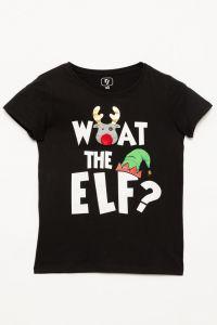 Новорічна футболка для дівчинки, Reporter 203-0440G-46-100-1
