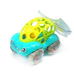 "Іграшка-брязкальце ""Машинка"" (зелена), Lindo Б 339"