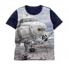 """Трикотажна футболка """"Літак"""" для хлопчика, 11308-5"""