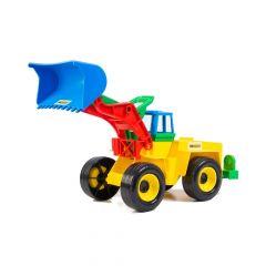 Іграшковий екскаватор, Wader 39212 (жовтий)
