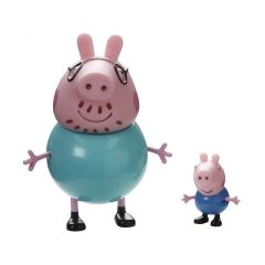 Набір фігурок Peppa - Сім'я Пеппі (Джордж і Папа), Peppa Pig 20837-2