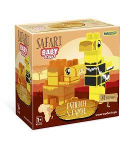 """Дитячий конструктор """"Baby Blocks'' Сафарі - страус/верблюд 20 ел., 41504"""
