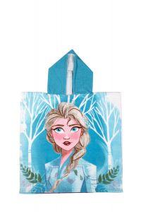 """М'який рушник-пончо """"Frozen"""" з мікрофібри (55х110см), DIS FROZ 52 46 8732"""