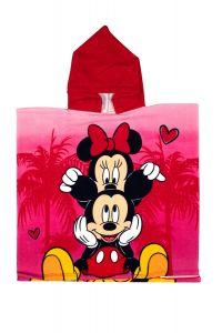 """М'який рушник-пончо """"Minnie Mouse"""" з мікрофібри (55х110см), DIS MF 52 46 8461"""