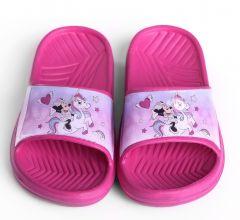 Гумові шльопанці ''Minnie Mousell '' для дівчинки, DIS MF 52 51 8015 (рожеві)
