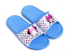 Гумові шльопанці ''Minnie Mouse'' для дівчинки, DIS MF 52 51 9347 (блакитні)