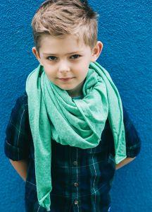 Косина-шарф Дрейк, зелена 16.01.040