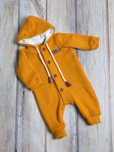 Ангоровый человечек для малыша (горчичный), MagBaby 1202