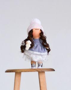 """Текстильна лялька ручної роботи """"Габбі""""  ДекоЛад"""