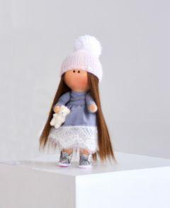 "Текстильна лялька ручної роботи ""Ніколетта""  ДекоЛад"