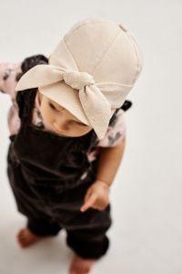 """Літня кепка для дівчинки """"Ліа"""" 21.03.020 (бежева)"""