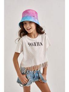 """Стильна панама для дівчинки """"Лоліта"""" 21.03.035 (рожева)"""