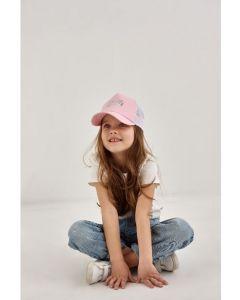 """Модна кепка для дівчинки """"Даніела"""" 21.03.022 (рожева)"""