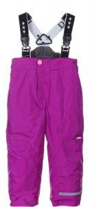 Зимові штани на підтяжках для дитини (фіолетові), DC Kids