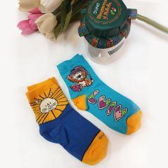 Набір трикотажних шкарпеток (в подарунковій упаковці) 2шт., Duna 1063