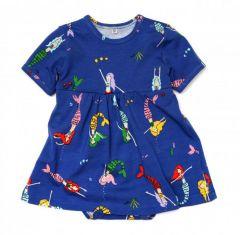Трикотажне плаття-боді для дівчинки, 11354