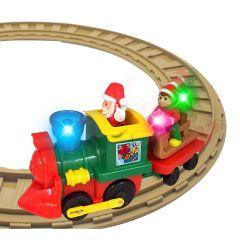 """Ігровий набір із залізницею - """"Різдвяний експрес"""", Kiddieland 056770)"""