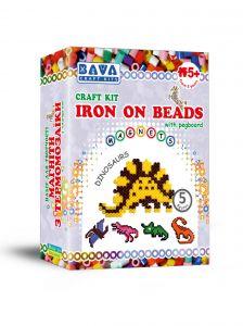 """Набір для творчості """"Термомозаїка - Динозаври"""", Bava Craft Kits ТМ-001"""