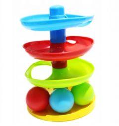 Cпіральна вежа з м'ячем, 13403