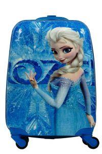 """Дитяча пластикова валіза """"Холодне серце - Ельза"""", Disney"""