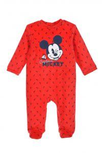 """Велюровый человечек для ребенка """"Mickey"""", Sun City ET0310 (красный)"""