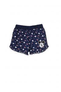 """Трикотажні шорти для дівчинки """"Minnie"""" (сині), Sun City ET1130"""
