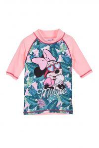 """Футболка для плавання для дівчинки  """"Minnie"""" Sun City ET1730 (світло-рожева)"""