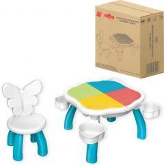 Конструктор -стіл зі стільчиком,5501