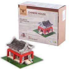"""Конструктор з міні-цеглинок """"Китайський будиночок"""", Wise Elk 70354"""