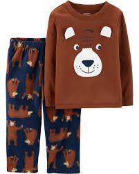 Піжама для хлопчика з штанами на флісовій байці