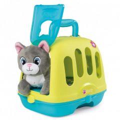"""Ігровий набір """"Ветеринарний чемоданчик-переноска з кошеням"""", Smoby 340300"""